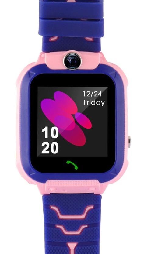 Montre connectée pour enfant, fonction appel SOS, avec compartiment carte SIM et appareil photo, compatible avec téléphones Anroid et iOs