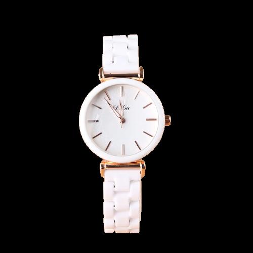 Montre-Bracelet en céramique pour femmes, à Quartz, de luxe