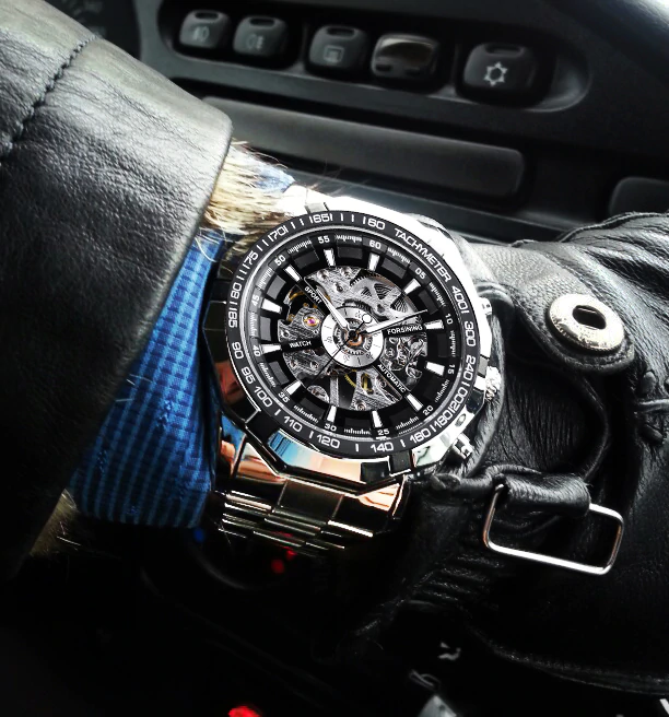 Montre sport automobile
