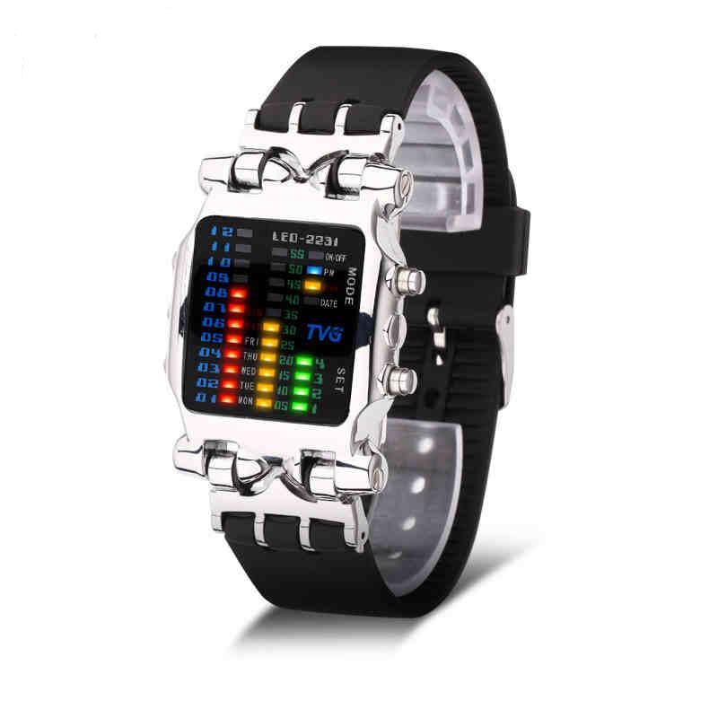 Votre montre de luxe numérique pour homme