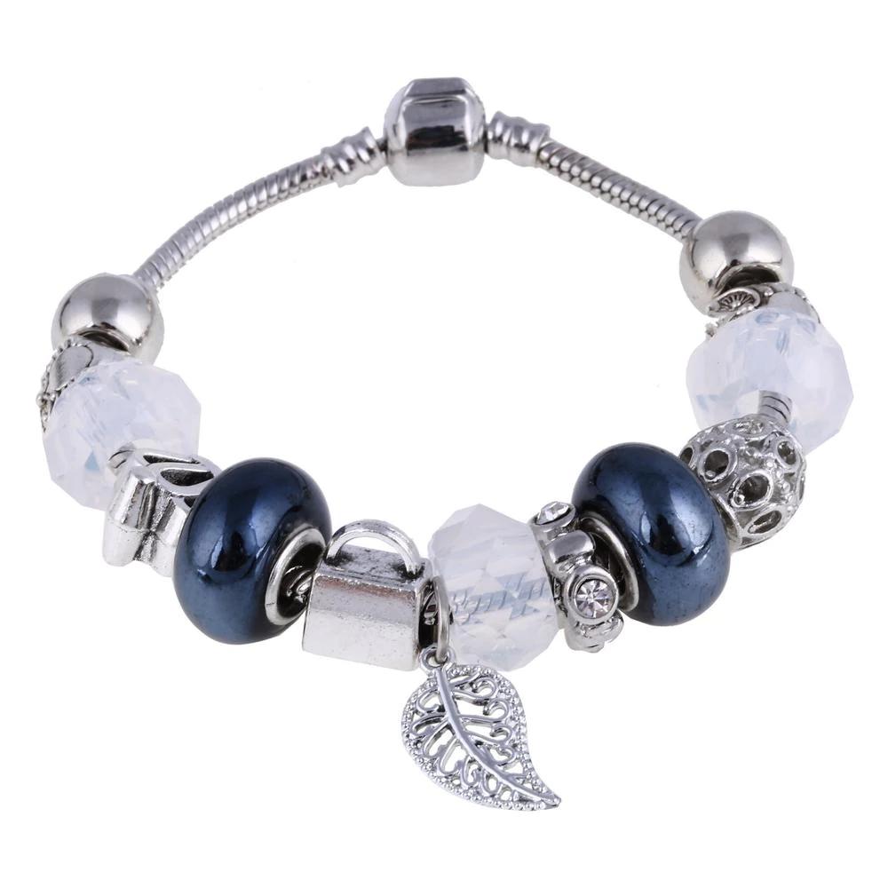 Bracelets en Argent avec des pendentifs