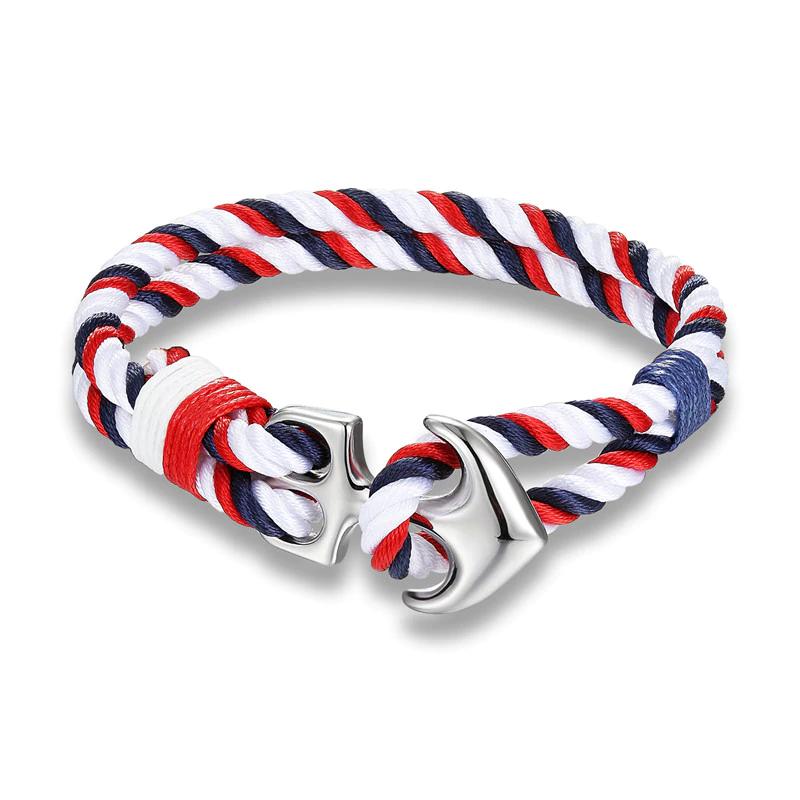 Bracelet nautique homme