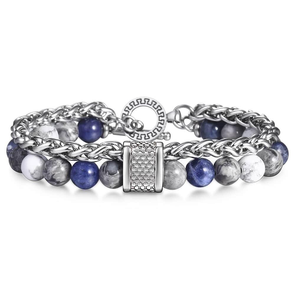 Naturelle bracelet à perles