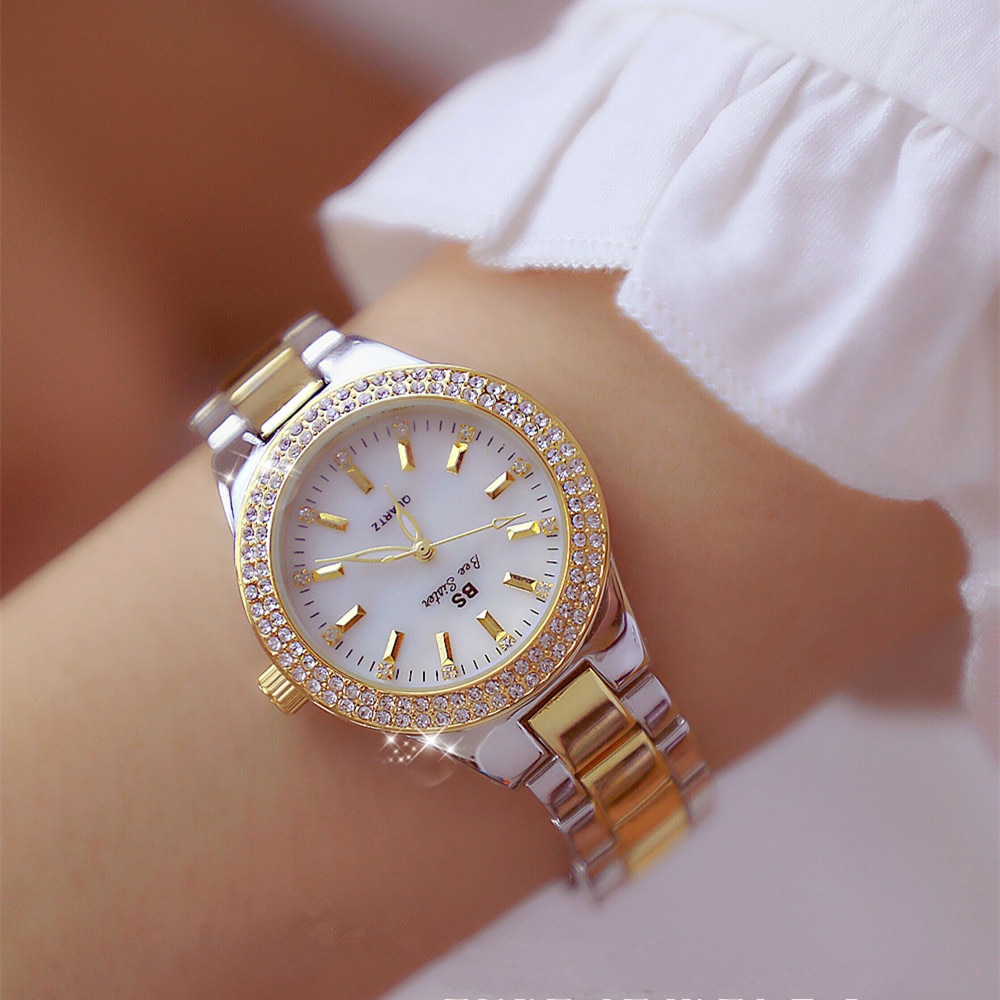 Montre De Mode Or Rose Quartz