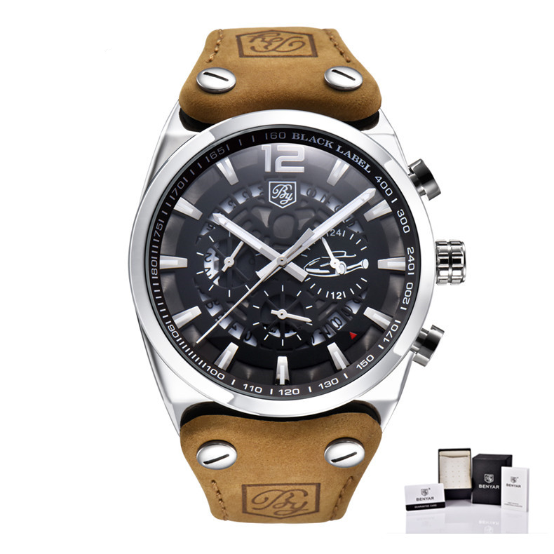 Montre automatique chronographe homme
