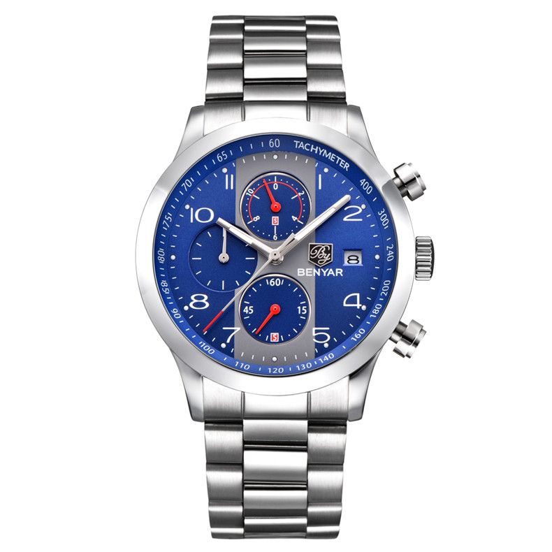 Montre chrono automatique homme