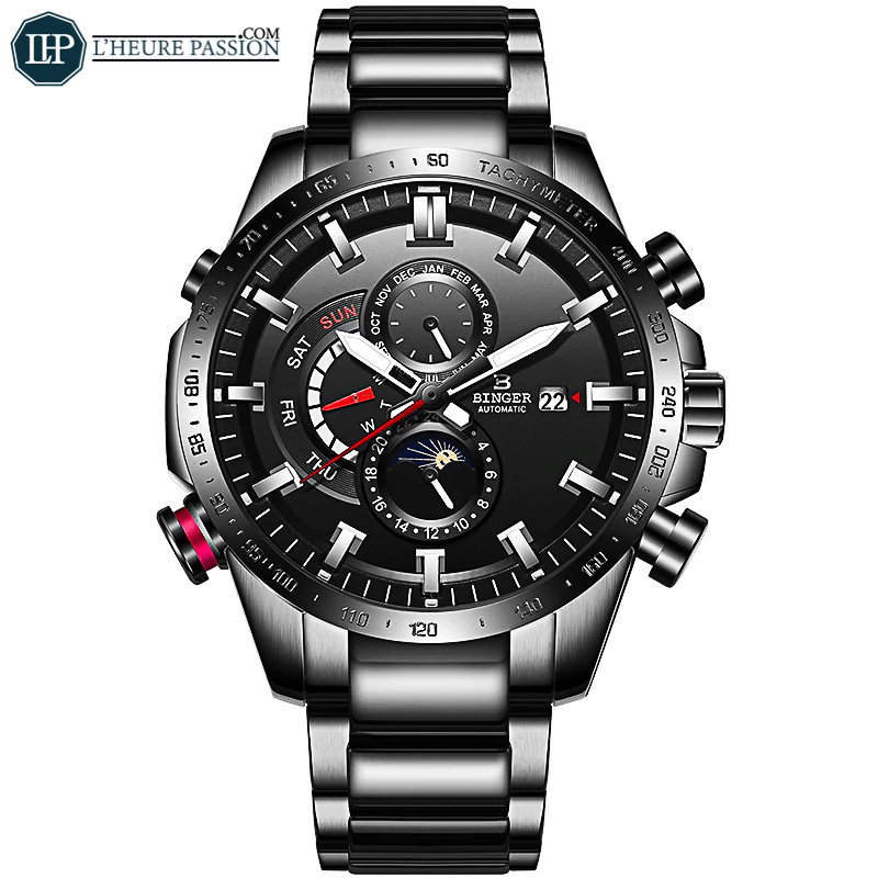 Montre automatique sport chic