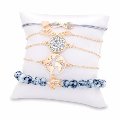 Bohème Tortue bracelets porte-bonheur