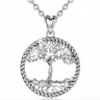 1_EUDORA-925-collier-pendentif-arbre-de-vie-en-argent-massif-feuille-d-arbre-et-collier-d