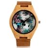Montres-en-bois-Quartz-Punk-cr-ne-hommes-montre-bracelet-en-cuir-bambou-Cool-moderne-d
