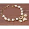 2017-Nouveau-Douce-Et-Belle-Perle-D-imitation-Perles-De-Mode-Bracelet-En-Cristal-Coeur-Fleurs