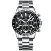 MEGALITH-marque-hommes-montre-chronographe-en-acier-inoxydable-montres-hommes-tanche-montre-Quartz-hommes-de-luxe