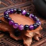 Meajoe-la-mode-pierre-naturelle-amour-violet-perle-Bracelet-Vintage-breloque-ronde-cha-ne-perles-Bracelets