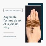 Chapelet de prière bouddhiste de 108 perles (1)