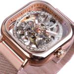 2_Forsining-bleu-montres-pour-hommes-automatique-m-canique-mode-robe-carr-squelette-montre-bracelet-mince-maille