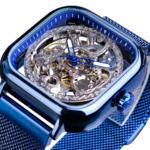0_Forsining-bleu-montres-pour-hommes-automatique-m-canique-mode-robe-carr-squelette-montre-bracelet-mince-maille