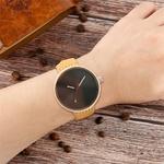 Noir-bleu-rouge-cadran-color-femmes-montre-bracelet-en-bois-d-rable-montres-femme-d-contract