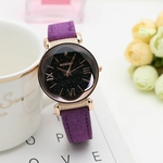Nouvelle-Mode-Gogoey-Marque-Or-Rose-Montres-En-Cuir-Femmes-dames-occasionnels-robe-quartz-montre-bracelet