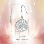 Eudora-100-925-argent-Sterling-arbre-de-vie-goutte-boucle-d-oreille-avec-AAA-Zircon-femmes