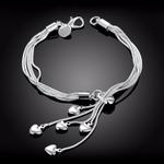 LEKANI-vente-en-gros-925-Bracelet-en-argent-Sterling-crochet-cinq-coeur-haute-qualit-bijoux-fins