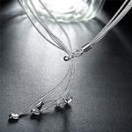 DOTEFFIL-925-en-argent-Sterling-cinq-coeur-serpent-cha-ne-collier-pour-les-femmes-charme-mariage