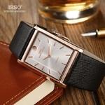 IBSO-Ultra-mince-Rectangle-cadran-hommes-montres-2020-bracelet-en-cuir-Quartz-montre-bracelet-classique-affaires