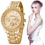 Gen-ve-montre-mode-femmes-montres-acier-inoxydable-exquis-montre-pour-femmes-strass-luxe-montre-Quartz