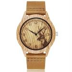 Animal-cerf-arbre-Imitation-bois-montre-hommes-femmes-Couple-montre-bracelet-imiter-en-bois-montres-acrylique