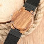 2017-Simple-en-bois-montres-Relogio-Feminino-amant-femmes-cadeaux-l-gant-rayure-motif-noir-bracelet