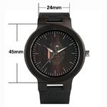 Creative-hommes-montre-bracelet-en-bois-noir-Simple-Quartz-horloge-bambou-bracelet-en-cuir-v-ritable