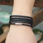XQNI-marque-noir-r-tro-Wrap-Longue-en-cuir-bracelet-hommes-bracelets-de-mode-sproty-Cha