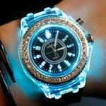 Montres-gen-ve-Quartz-en-Silicone-pour-femmes-lumineux-lumineux-8-couleurs-collection-LED