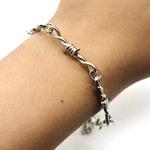 Bracelet-unisexe-fer-braises-ras-du-cou-Style-Punk-gothique-Hip-hop-fil-barbel-petites-pines