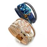 Amorcome-R-sine-Ronde-En-Cuir-Bracelets-Pour-Femme-mode-2020-Boh-me-multicouche-Large-Wrap