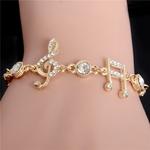MISANANRYNE-De-Luxe-Bijoux-Cadeaux-Or-Couleur-Notes-de-Musique-Bracelet-Cristal-Zircon-Charme-Bracelet-Pour