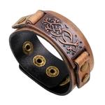 LKO-2017-Nouveau-arrivent-Mode-Brun-V-ritable-En-Cuir-bracelets-d-enveloppement-bracelets-pour-Femmes