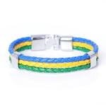 Brazil Flag_bracelet-en-cuir-avec-identification-ave_variants-8