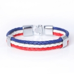 France Flag_bracelet-en-cuir-avec-identification-ave_variants-3