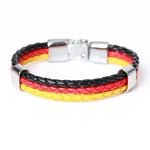 Germany Flag_bracelet-en-cuir-avec-identification-ave_variants-0