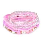 Boh-me-rouge-multi-couche-Bracelets-Bracelets-pour-femmes-accessoires-bijoux-color-cristal-perles-Bracelet-ensemble