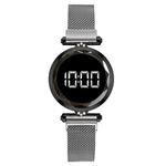LED-de-luxe-femmes-Bracelet-magn-tique-montres-or-Rose-robe-num-rique-montre-Quartz-montre