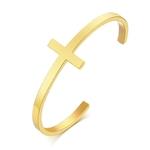 style1 Gold_bracelet-croise-argente-en-acier-inoxyda_variants-2