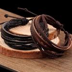 KYSZDL-vente-chaude-100-tiss-la-main-mode-bijoux-Wrap-multicouche-en-cuir-tress-corde-bracelet