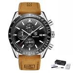 L Brown Silver Black_benyar-montre-etanche-de-marque-pour-h_variants-11