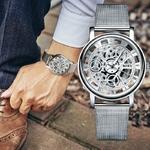 Mode-affaires-squelette-montre-hommes-gravure-creux-robe-Quartz-montre-bracelet-en-acier-inoxydable-bande-femmes
