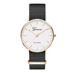 Exquis-simple-sangle-En-Nylon-femmes-montres-de-luxe-de-mode-bracelet-de-quartz-Gen-ve