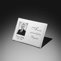 plaque porcelaine photo