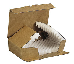 Boîte postale en mousse
