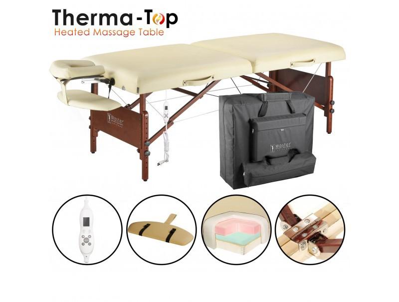 Table de massage portable pliante - DEL REY Therma TOP