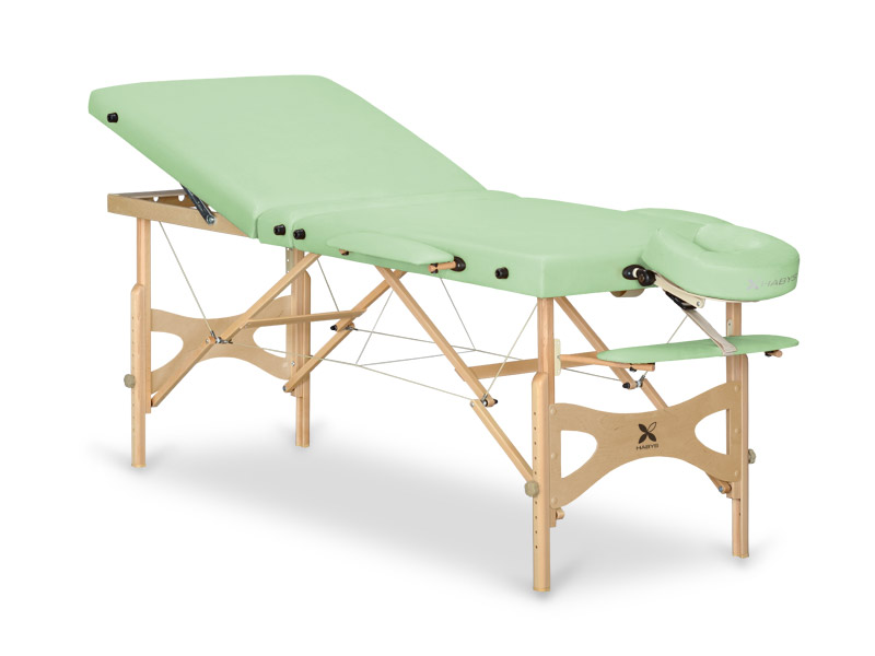 Table de massage en bois portable - pliante PANDA + Hêtre Naturel